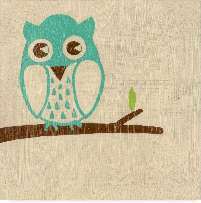 Trademark Fine Art Best Friends Owl Art by Chariklia Zarris, 14x14