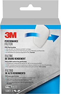 3M Safety 5P71PB1-6 3M P95 Particulate Filters, 6/Pack,