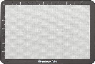 KitchenAid Silicone Baking Mat, 8x12-Inch, Gray