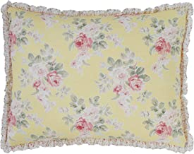 Laura Ashley Home | Melany Collection | Premium Quality Pillow Sham, Decorative Pillow Case for Bedroom Living Room and Ho...