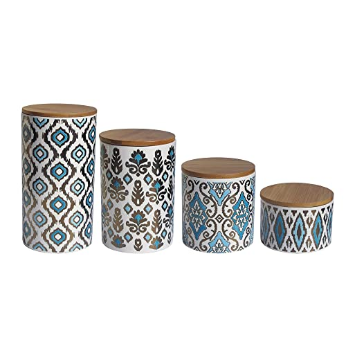 Blue Kitchen Canisters Sets: Amazon.com