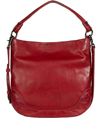Frye Melissa Hobo (Red) Hobo Handbags