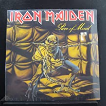 IRON MAIDEN Piece Of Mind LP original 1st US press 1983 gold stamp CAPITOL ST-12274 Heavy Metal