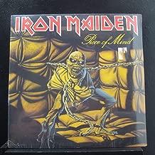 IRON MAIDEN Piece Of Mind LP original 1st US press 1983 gold stamp CAPITOL ST-12274 Heavy Metal