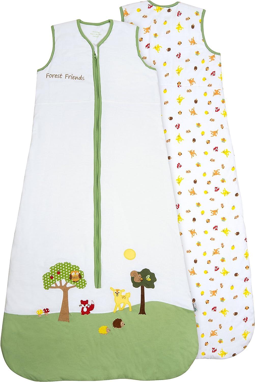 Schlummersack Baby Sommerschlafsack 0.5 Tog 110cm 12-36 Monate mitwachsend - - - Waldtiere B01A1A8550 c0c9b9