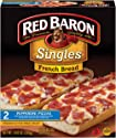 Red Baron, French Bread Pepperoni Pizza, 10.80 oz (Frozen)
