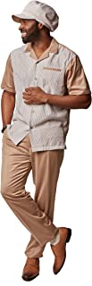 Saint Lorenzo Seersucker 3-Piece Set: HAT, Shirt & Pant