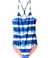 Seafolly Kids - Riviera Belle Tank One-Piece (Little Kids/Big Kids)