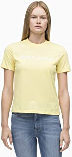 Calvin Klein Jeans Women's Embroidered Institutional Logo Tee
