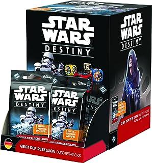 Fantasy Flight Games FFGD3202 – Star Wars: Destiny – Rebellion Boosters (36) display, kortspel