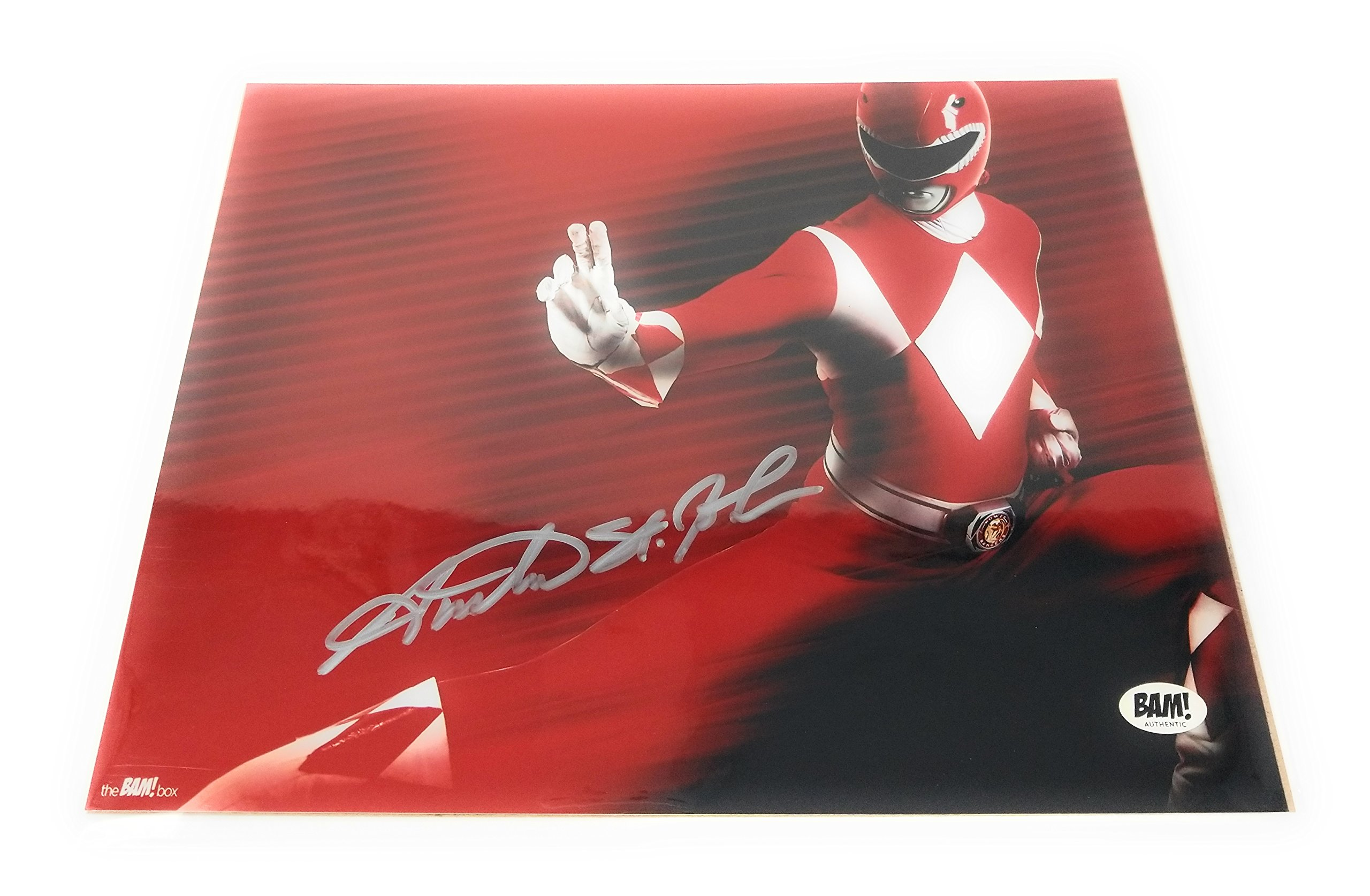 Autographed Red Ranger Austin St John Mighty Morphin Power Ranger 8x10 Photo Print Bam Box Exclusive Amazon Com Au Home