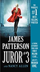 Cover image of Juror #3 by James Patterson