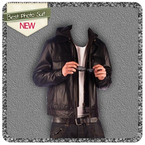 Leather Jacket Photo Suit