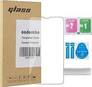Cadorabo härdat glas fungerar med Nokia Lumia 530 i HIGH TRANSPARENcy – skärmskydd 3D touch kompatibel med 9H hårdhet – sk...