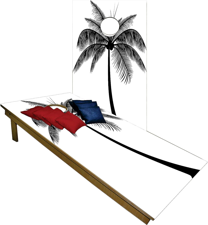 BackYardGamesUSA Premium Cornhole Set - Shipping included Black Ta Tree White Ranking TOP13 Palm