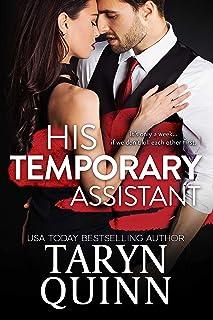 His Temporary Assistant: A Grumpy Boss Romantic Comedy (Kensington Square Book 1)