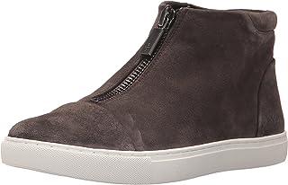 Kenneth Cole New York Womens Kayla High Top Front Zip Sneaker Suede Kayla High Top Front Zip Sneaker Suede Grey Size: 6.5 US / 6.5 AU