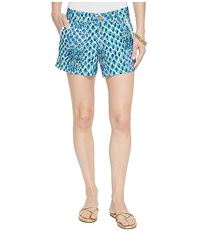 Lilly Pulitzer Callahan Shorts (Resort White Toe In) Women