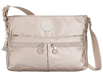Kipling New Angie Crossbody Bag (Metallic Glow) Handbags