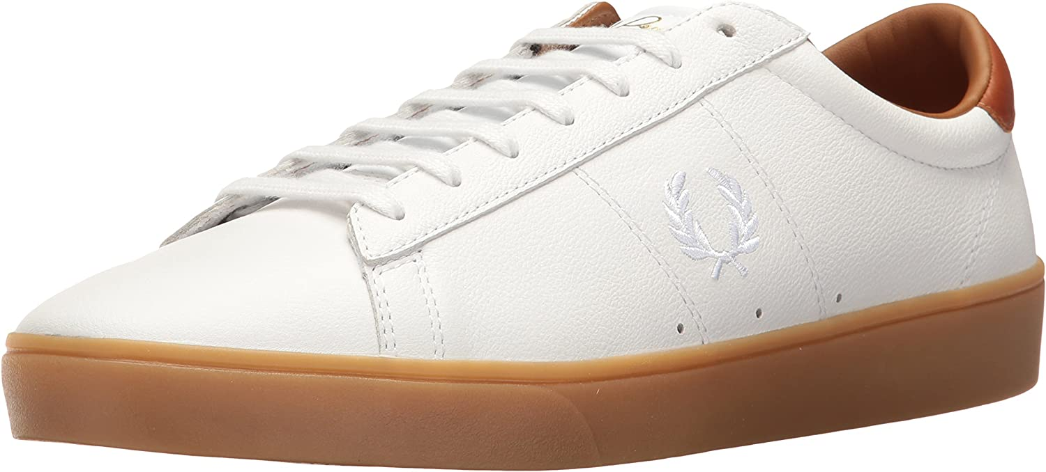 Fred Perry Adults' Spencer Tumbled Leather Sneaker