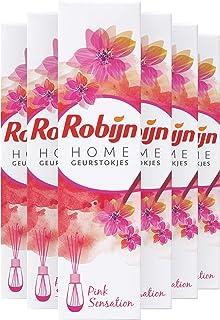 Robijn Home Geurstokjes Pink Sensation - 6 x 45ML