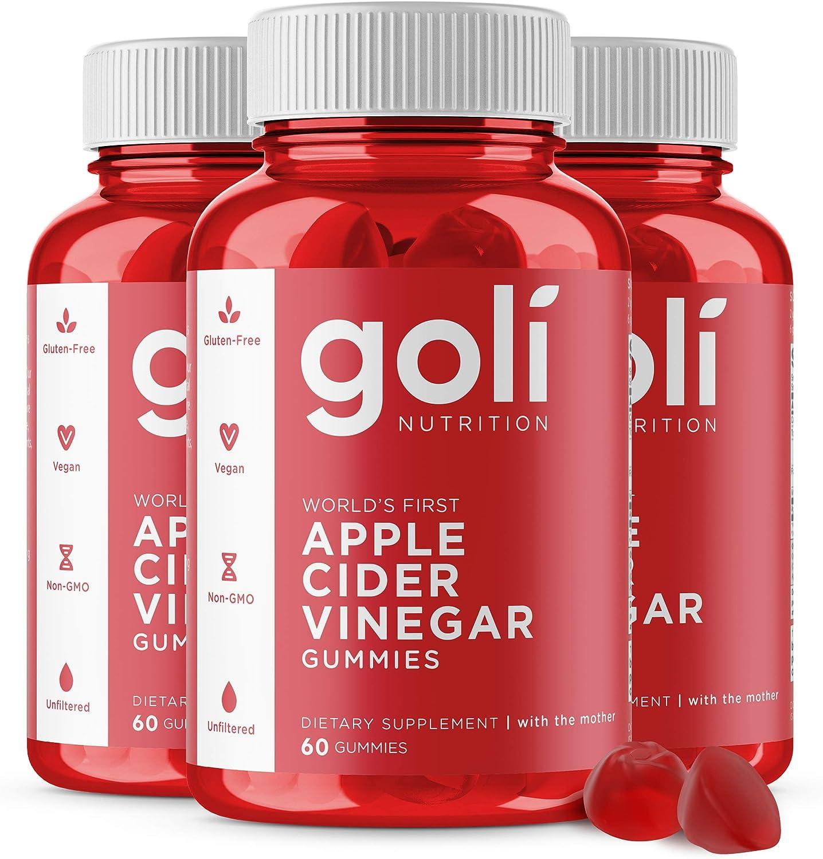 Apple Al sold out. Super intense SALE Cider Vinegar Gummy Vitamins by Nutrition Immunity Goli -