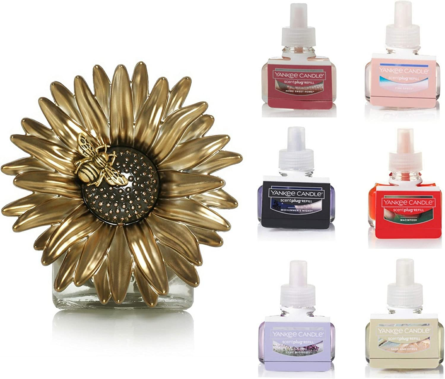 Yankee Trust Candle Starter Kit with Selling Sunflower Electric 1 Visitor