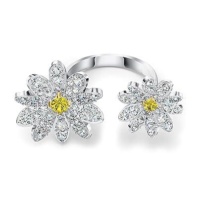 Swarovski Eternal Flower Open Ring (CZ White) Ring