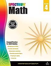 Spectrum   Math Workbook   4th Grade, 160pgs