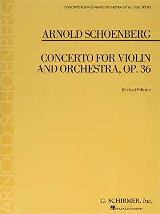 Concerto for Violin and Orchestra, Op. 36: Study Score No. 80