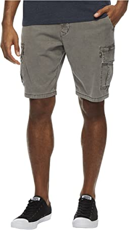 Lucky Brand - Stretch Sateen Cargo Shorts