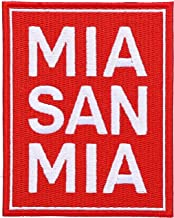 FC Bayern München MIA San MIA - Parche (10 x 5 cm)