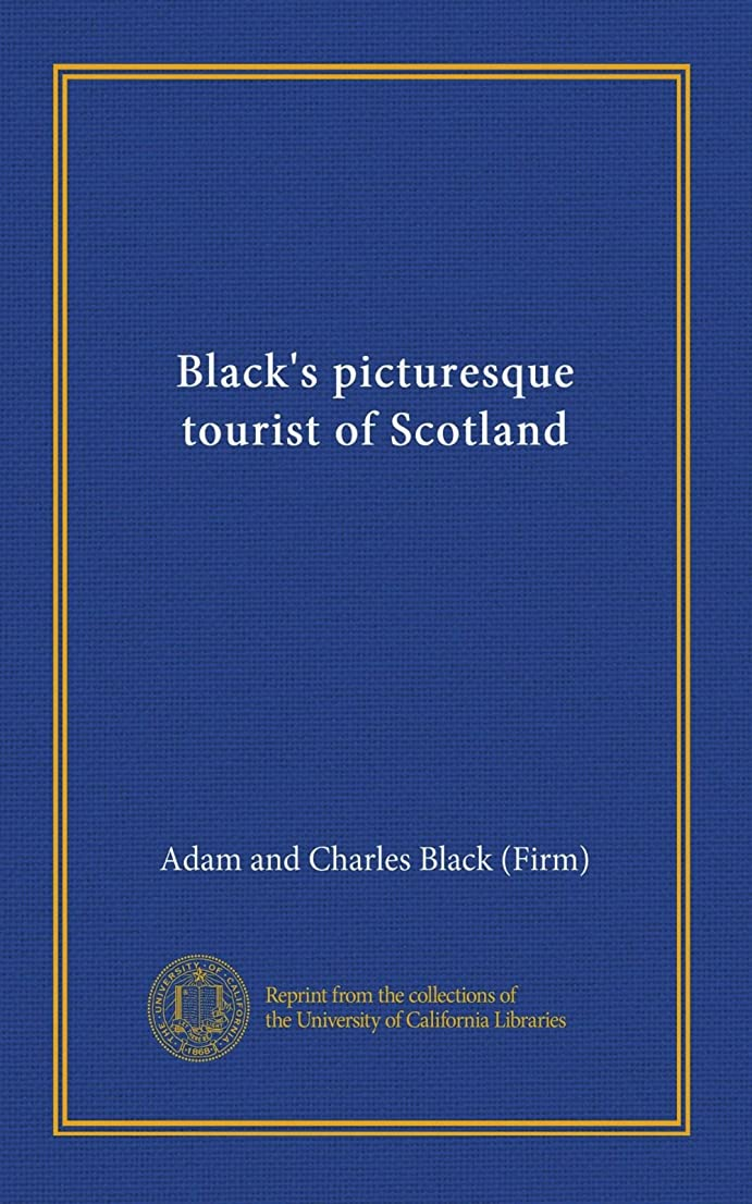聖歌汚い狼Black's picturesque tourist of Scotland (v.2)