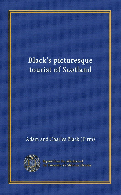 ワゴン通路連結するBlack's picturesque tourist of Scotland (v.2)