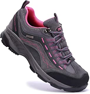 Women's Hiking Shoes Anti-Slip Breathable Sneakers for Outdoor Walking Trekking