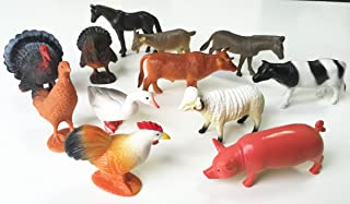 Best 12 farm animal miniature toy figures Reviews