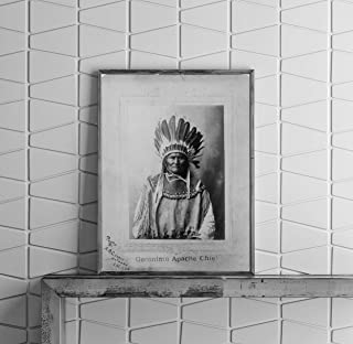 INFINITE PHOTOGRAPHS 1907 Photo: Geronimo   Apache Indian Chief   Indians of North America   Headdress   Feathers   Vintage Photo