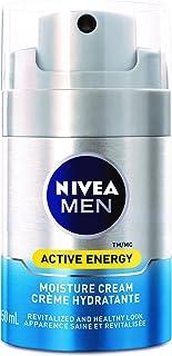 NIVEA MEN Active Energy Moisture Cream, 50 mL dispenser