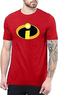 Incredbles Superhero T Shirts for Men - Crewneck Adult Graphic Tees for Men