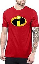 Decrum Incredbles Superhero T Shirts for Men - Crewneck Adult Graphic Tees for Men