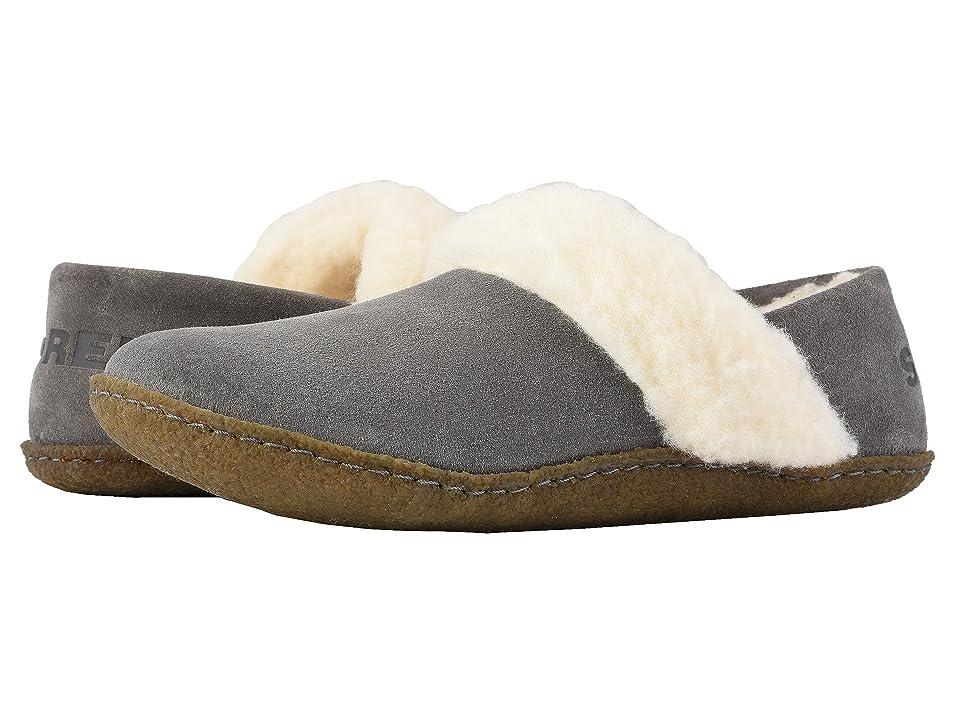 SOREL Nakiskatm Slipper II (Quarry/Natural) Women's Slippers, Gray