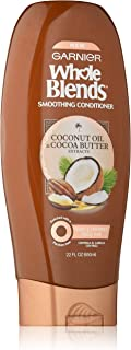 Garnier Whole Blends Conditioner with Coconut Oil & Cocoa Butter Extracts, 22 fl. oz.