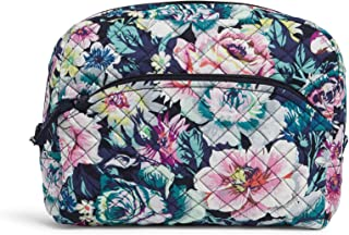 Vera Bradley Women's Signature Cotton Large Cosmetic Makeup Organizer Bag