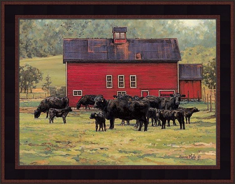 Rural Ranch Sunflower Farm Silo Art Print Home Decor Wall Art Poster