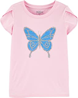 Girls' Flip Sequin Tee
