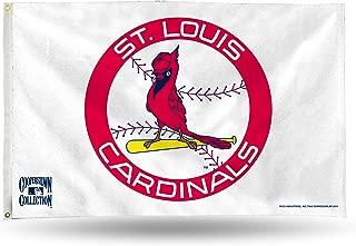 Rico Industries STL Cardinals Cooperstown Bird/Bat Logo Banner FLG