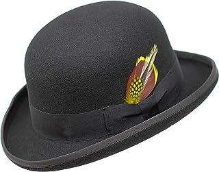Borges & Scott Premium Orwell - Sombrero de Hongo o Bombín - 100% Fieltro de Lana