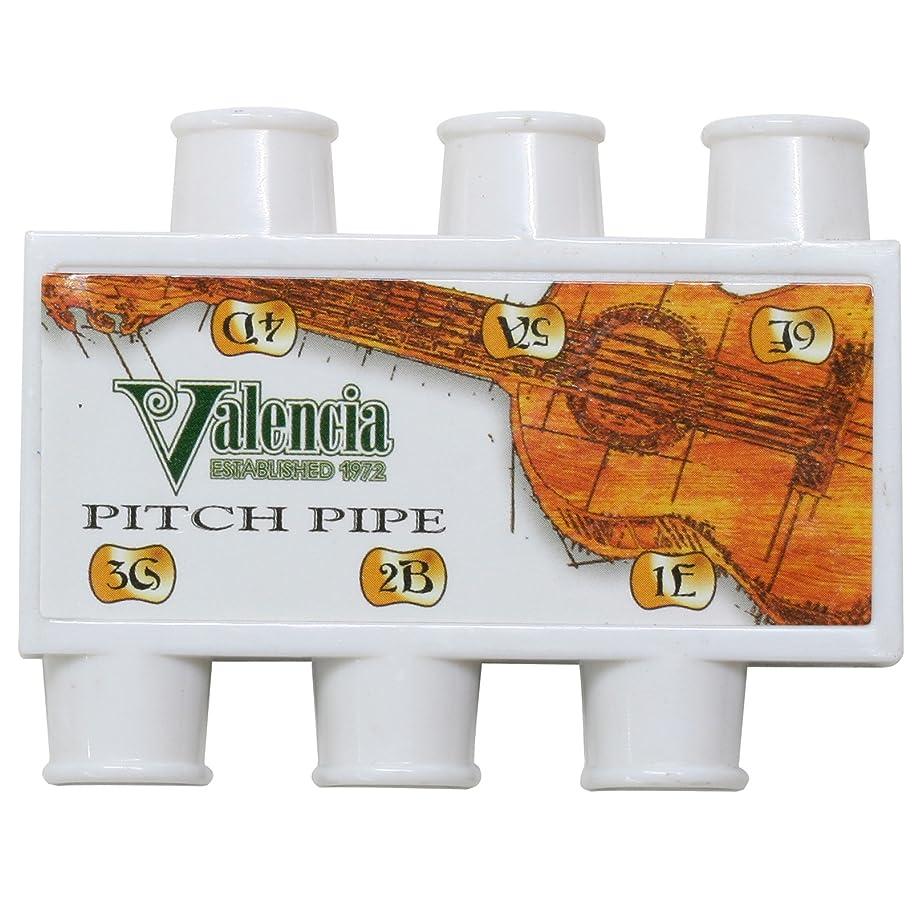 アプライアンス野球測定VALENCIA ギター ピッチパイプ 6連 1E-2B-3G-4D-5A-6E PP-G6