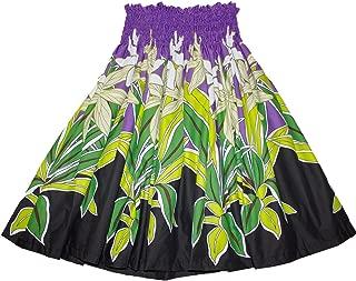 Hawaiian Pa'u Polynesian Hula Dance Skirt for Womens