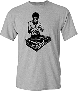 bruce lee turntables shirt